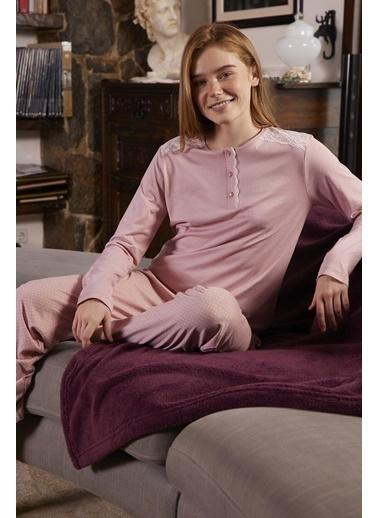 Aydoğan Pijama Takım Renkli